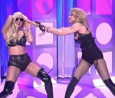 """Lady Gaga: """"Jag ville provocera Madonna"""""""