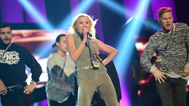 Robin Strandberg: Melodifestivalen deltävling 1