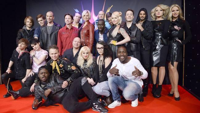 Robin Strandberg: Melodifestivalen deltävling 2!