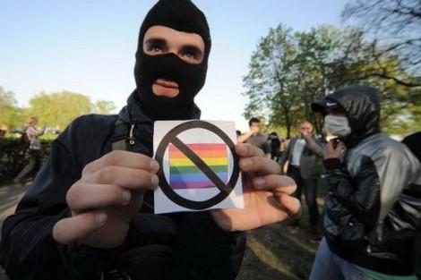 Krigets Ukraina vill tillåta diskriminering av HBTQ-personer