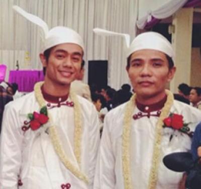 Gaypar gifter sig trots risk för fängelse