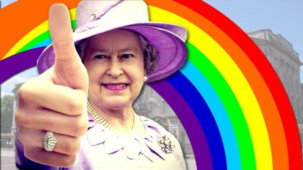Första gaybröllopet i England ikväll