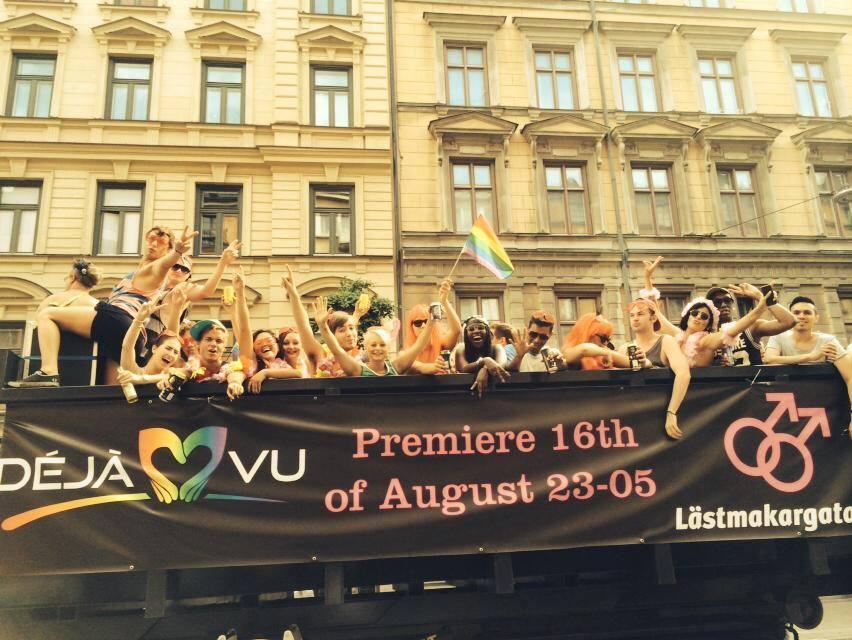 """Nya gayklubben """"Déjá vu"""" på infart i Stockholm"""