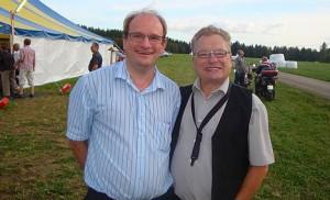 CHrister Åberg med vän