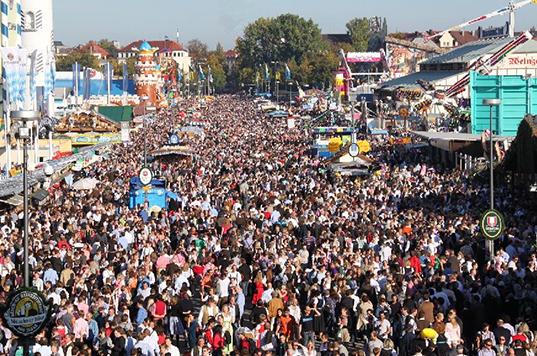 24-åring våldtogs på oktoberfest i Tyskland