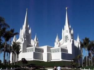 En mormonkyrka i USA