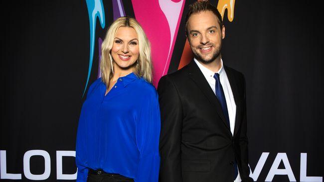 Melodifestivalen 2015 – Om årets programledare