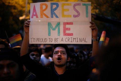 600 HBTQ-personer greps i Indien – för att de hade sex med personer av samma kön