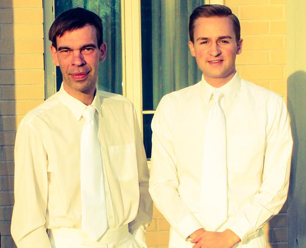 Fick inte ha ett förhållande – då lämnade Johan mormonkyrkan