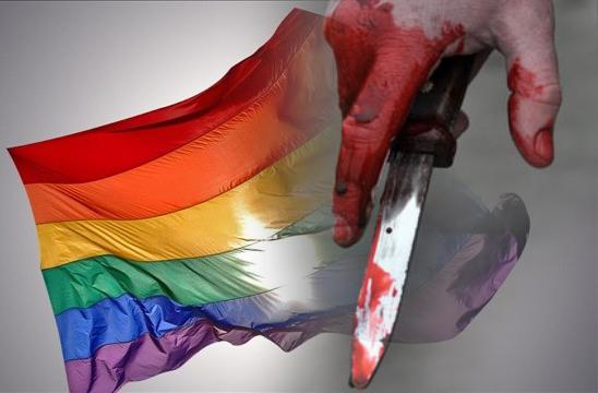 Sex deltagare knivhöggs i prideparad