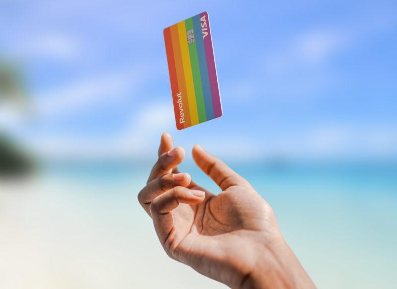 Revolut lanserar nytt regnbågskort för Pridefirandet